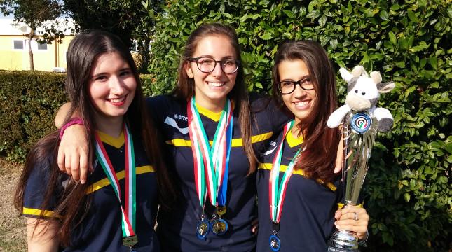 7 medaglie per i ragazzi del TSN Torino