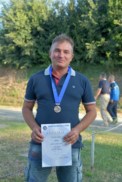 Stefano Caruso, medaglia di bronzo nella PGC Master