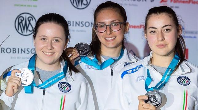 Brunella argento a squadre in Coppa del Mondo